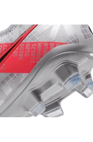 PUMA FUTURE 4.2 NETFIT MXSG SCARPA CALCIO ALLUMINIO MISTA - ANTHEM PACK - GRIGIO/ROSSO
